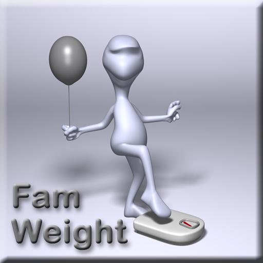 Image de « Fam Weight - Suivi du poids de la famille »